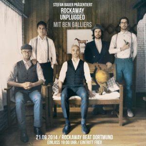 Ben Galliers Rockaway Plakat