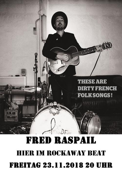 Fred Raspail 2018 Rockaway Beat